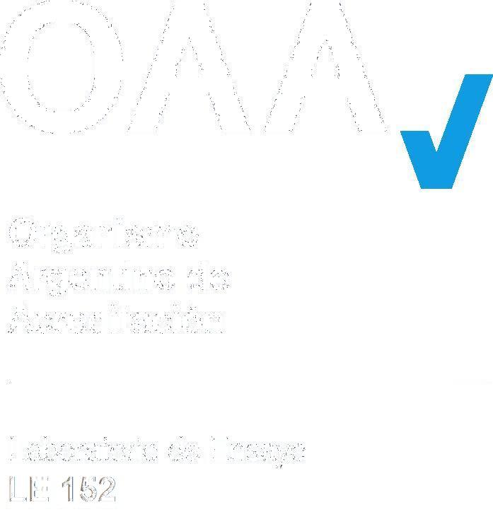 Organismo Argentino de Acreditación. Laboratorio de Ensayo LE 152.